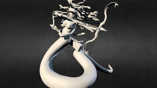 Medusa WIP, David Arévalo on ArtStation at…