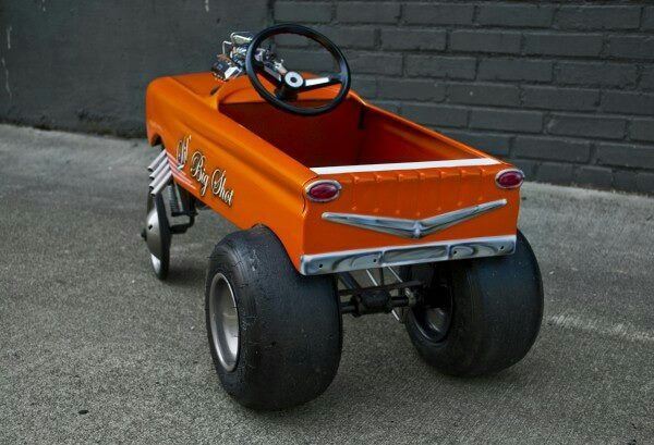 Agree with build an adult pedal car