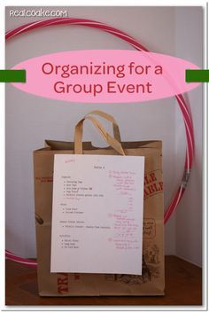 Event organization ideas and tips for easy set up of a large group event #girlscouts #event #organization