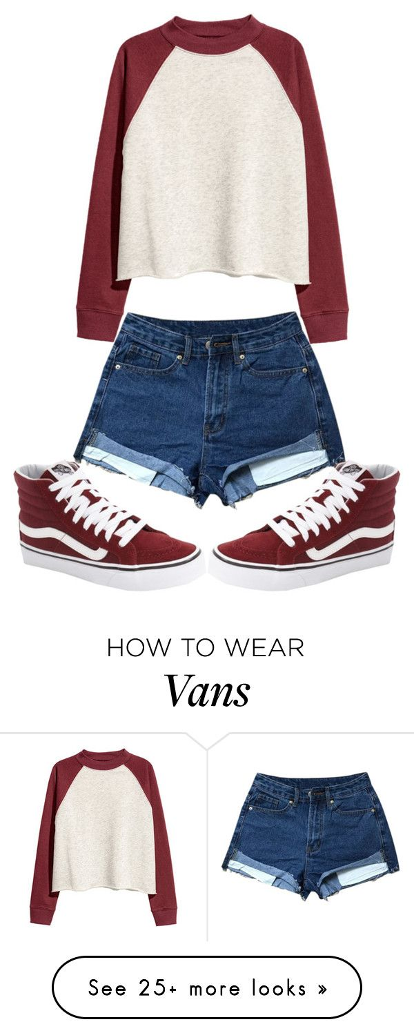 """Untitled #614"" by sydthekyd01 on Polyvore featuring Vans"