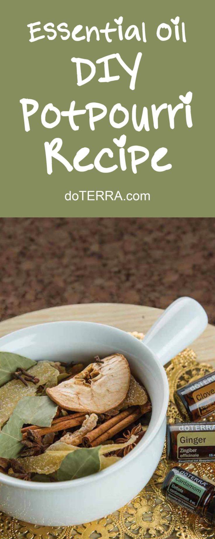doTERRA Essential Oils DIY Potpourri Recipe