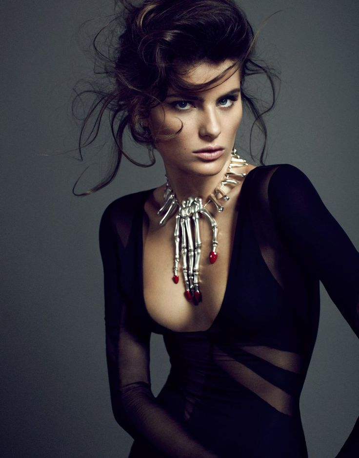Isabeli Fontana Smolders in Luxe Style for Sergi Pons El Pais Shoot