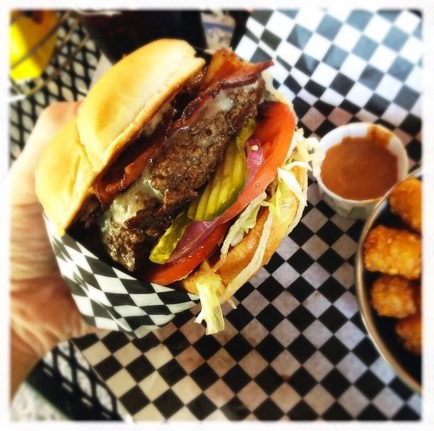 Bad Daddy's Burger Bar for amazing burgers and tater tots too