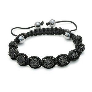 online shopping clothes juniors Top Value Jewelry   Brilliant Onyx Crystal Disco Ball Beads Unisex Shamballa Bracelet with Hematite Accents Top Value Jewelry   14 99  Dazzling Onyx Crystal Unisex Shamballa Bracelet  8 5 Inches in Length but Adjustable to 6 Inches to fit smaller wrist  Trendy onyx pave beads with a sleek designer look  Contemporary and versatile piece  adjustable to fit any wrist  Great Gift for Men and Women