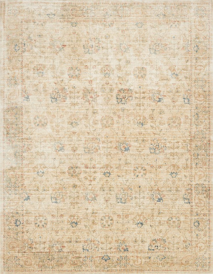 ED By Loloi Trousdale TX 01 Sand Multi Rug