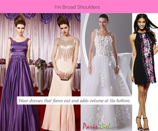 60 best short torso long legs images on pinterest for Wedding dresses for broad shoulders