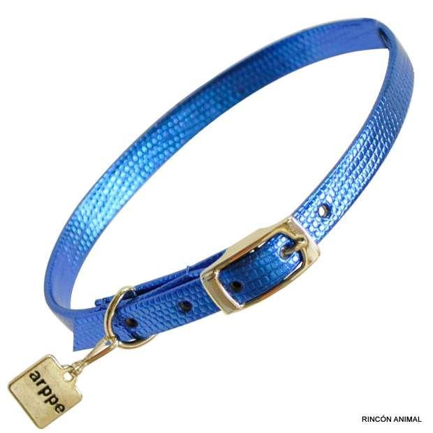 Complementos para animales - collar electric azul - Complementos para animales