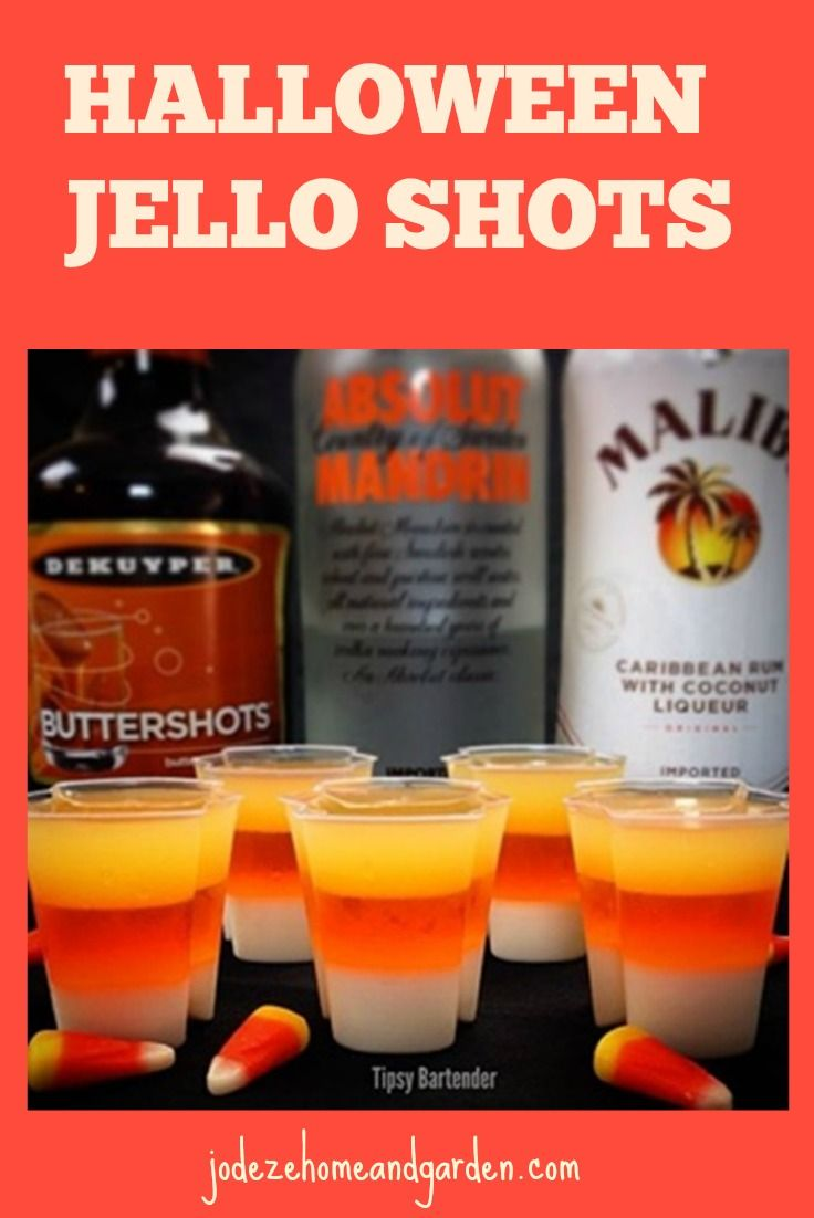 Lets get the party started with these Halloween Jello Shot Recipes!