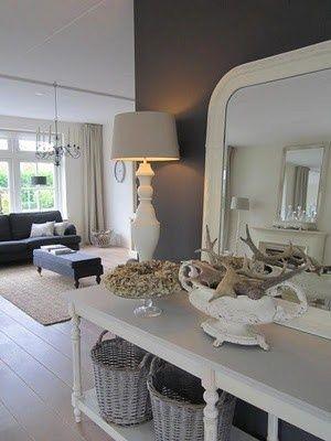 French Grey Hallway @ DIY House Remodel