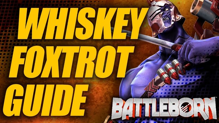 A holistic Battleborn guide to Whiskey Foxtrot (Rogue). Abilities, helices, gear stats, and loadouts, from both a PvE and PvP perspective.