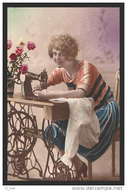 17 best images about vintage sewing postcard on pinterest. Black Bedroom Furniture Sets. Home Design Ideas