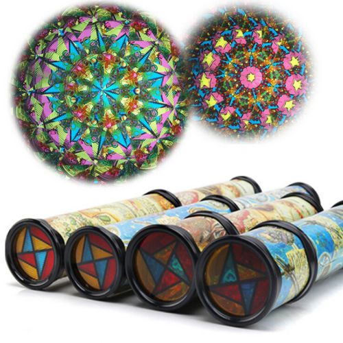 Hot Pretty Kaleidoscope Toy Kids Children Birthday Educational For Children Gifts