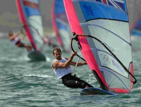 London 2012: Dorset windsurfer Nick Dempsey takes silver in the RS:X class
