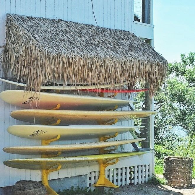 Paddle Board Storage Maybe Against One Side Of The Deck