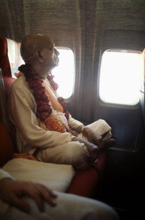 From 1966 to 1977, despite his advanced age, Srila Prabhupada circled the globe fourteen times on lecture tours that took him to six continents. /q79/1098453_10152095358381959_183148385_n.jpg