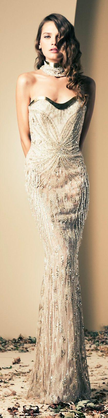 Ziad Nakad Couture F/W 2014 Seguici su Hermans Style diventa nostra fan ed entrerai nel mondo fantastico del Glamour !!!  Shoe shoes scarpe bags bag borse fashion chic luxury street style moda donna moda uomo wedding planner  hair man Hair woman  outfit time watch nail  print photo foto fotografia cartoline Photography