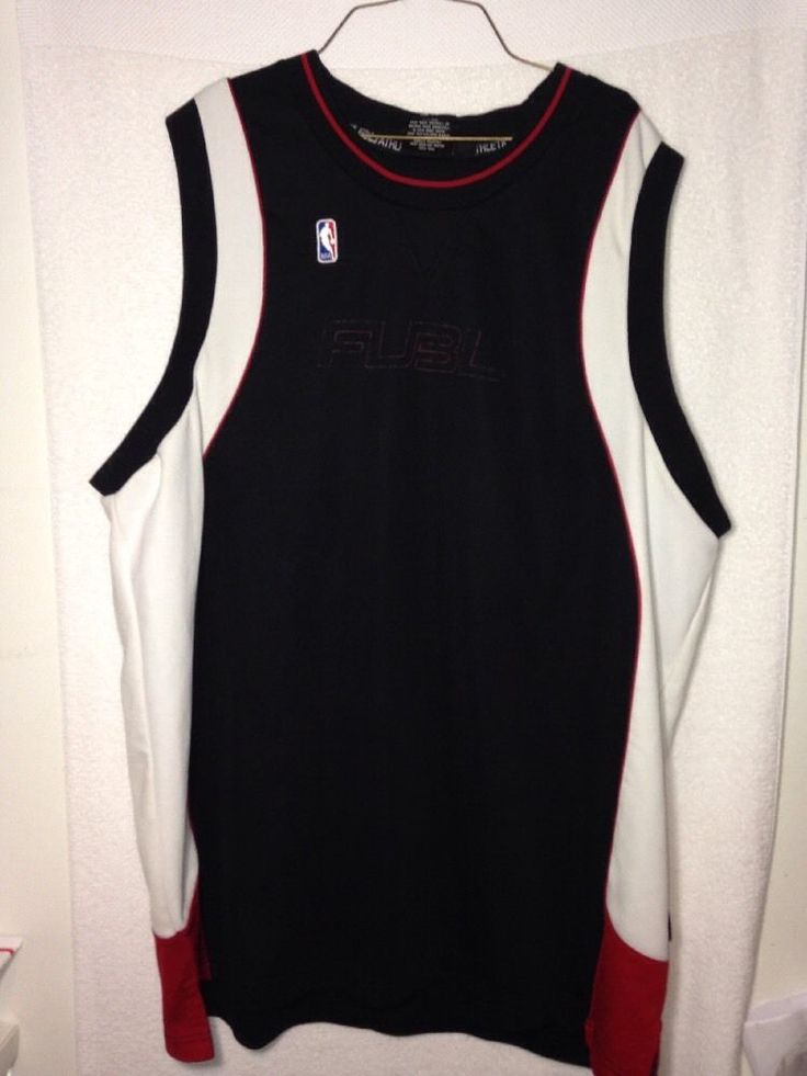 Mens Vintage 2XL Fubu Chicago Bulls Basketball Jersey, RARE, Free Shipping!  #FUBU #Jerseys