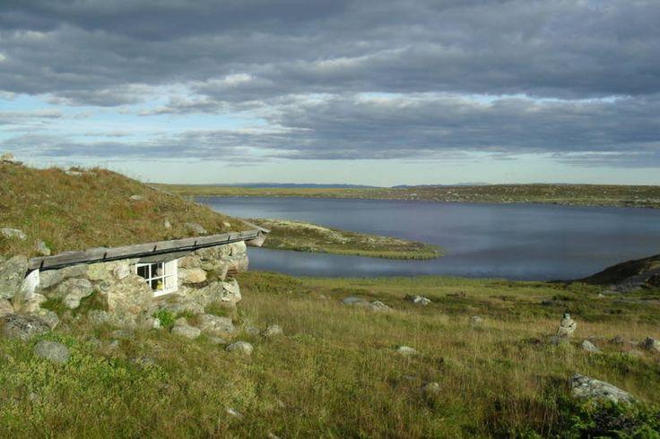 Steinbua ved Versjøen - Kyrkjetjørn