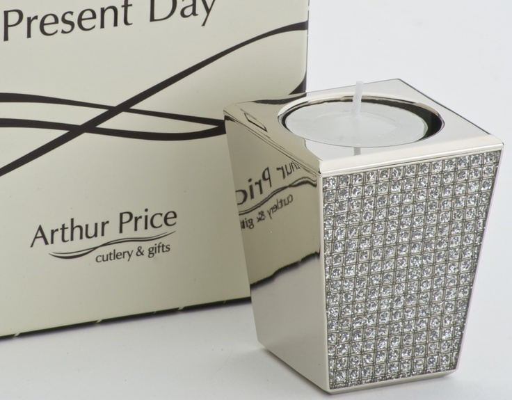 dual purpose diamante candleholder