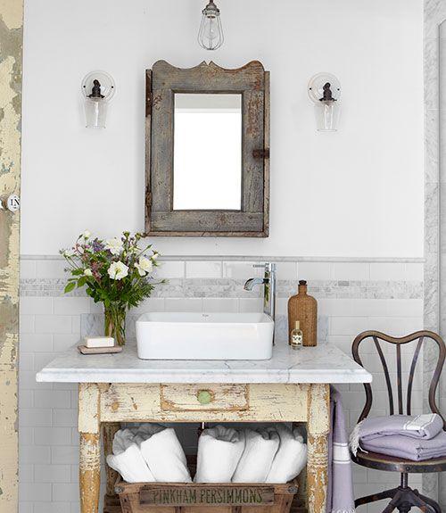 Afbeeldingsresultaat voor diy badkamermeubel