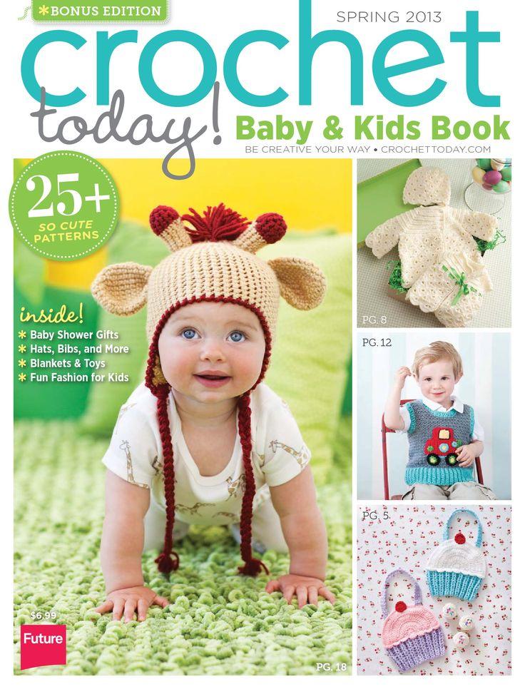 Crochet Today! - Baby & Kids Book - Spring 2013