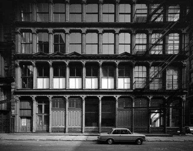 Edmund V. Gillon, [Donald Judd House and Museum, 101 Spring Street.] (c. 1974), polyester negative, 4 x 5 in (all images collections.mcny.or...