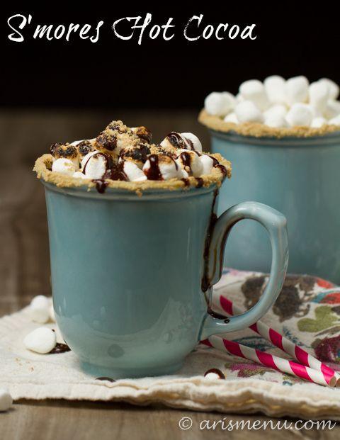 S'mores Hot Cocoa {The Recipe ReDux}