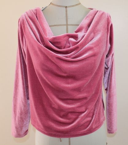 Download Pattern for Cowl top with inverted sleeves