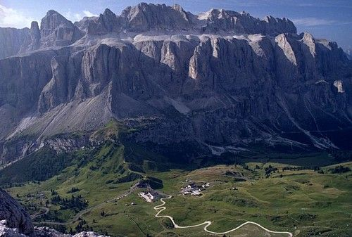 Sella Group from north, from...