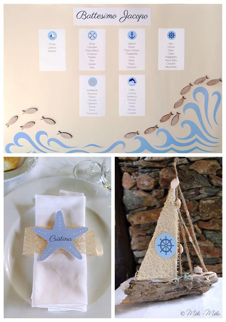 tableau de mariage segnaposto e segnatavolo per battesimo distribution des ideas