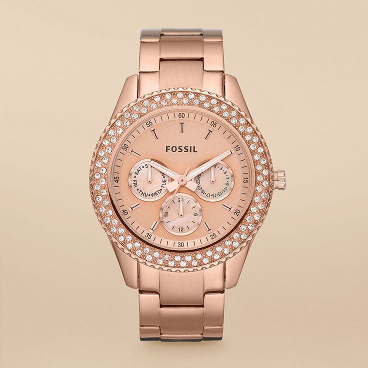 The Stella Watch in Rose Gold---Really need to get a Rose Gold Watch!