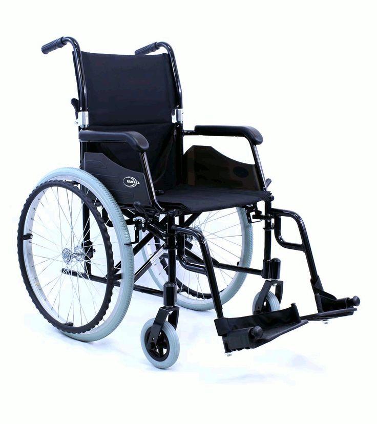 Karman Healthcare LT-980 18 24 lbs. Ultra Lightweight Wheelchair, Swing Away Footrest in Black $309.35/EA Karman Healthcare LT-980-BK
