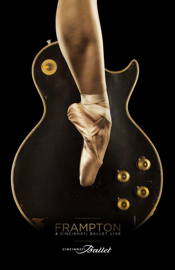 Peter Frampton + Cincinnati Ballet....ROCK ON! Love this idea. We need to present this!
