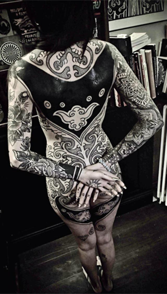 calu rivero tatuaje en espalda - Buscar con Google