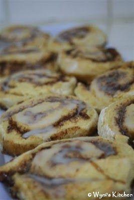 Easy Cinnamon Rolls using self rising flour