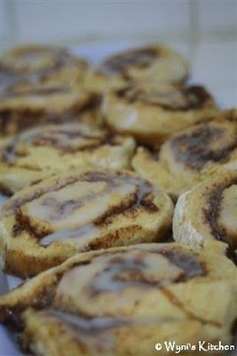 Easy Cinnamon Rolls using self rising flour