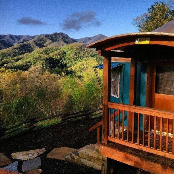 Sky Ridge Yurts Is The Best Glampground In North Carolina