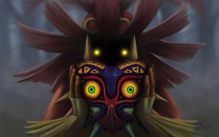 Skull Kid  Majora's Mask by Syilas.deviantart.com on @deviantART