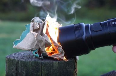 The FlashTorch Mini Is So Intense It Can Start a Fire