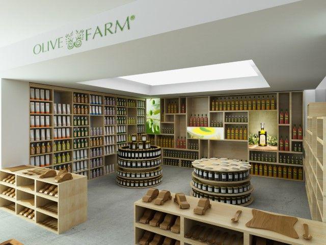 Olive Farm store by Net Mimarlık.