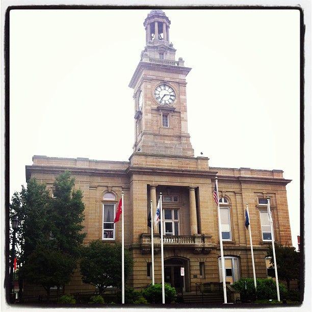 Photo: Places Ohio: Huron County Courthouse, Norwalk, Ohio