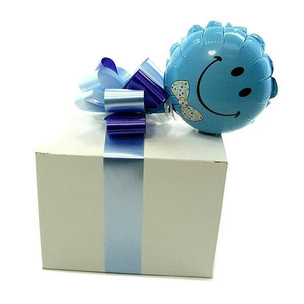 Send balloon with gift box for new mom