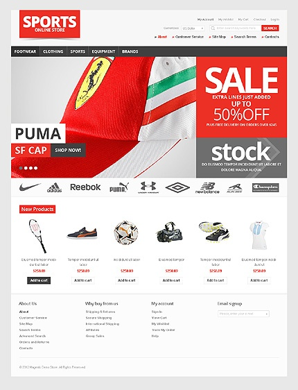 39 best magento template images on Pinterest