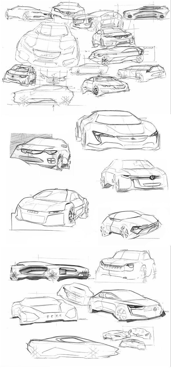 Adrien Sene Sketchbook on Behance