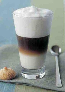 Recept voor een Latte Macchiato