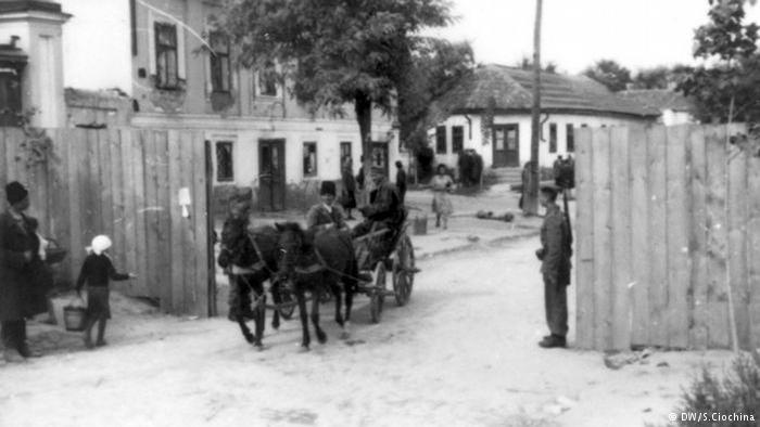 Intrarea în ghetoul din Chișinău