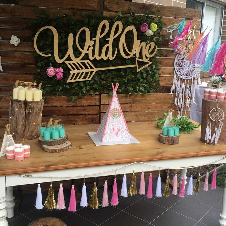 Check out this gorgeous boho tribal 1st birthday party!! Love the backdrop!! See more party ideas and share yours at CatchMyParty.com
