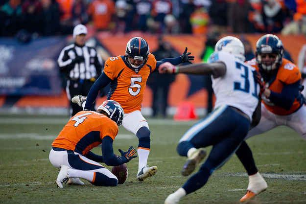 Here's the kick a split-second before Prater let it fly. | Watch The Longest Field Goal In NFL History