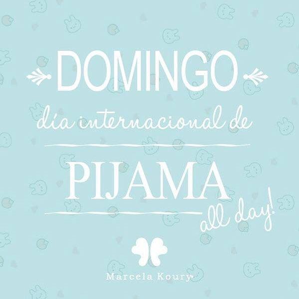 ¡Hoy declaramos el día internacional del pijama! Domingo pyjamasallday Zailu MarcelaKoury