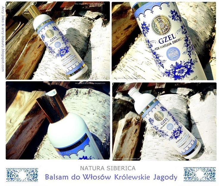 Natura Siberica Balsam do Włosów GZEL  #naturasiberica #gzel #kosmetyki #cosmetics #haircare